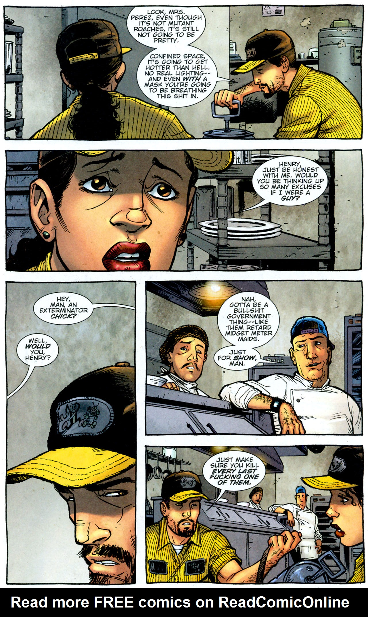 Read online The Exterminators comic -  Issue #14 - 11