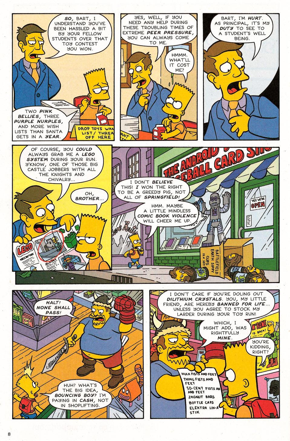 Read online Simpsons Comics Presents Bart Simpson comic -  Issue #31 - 10