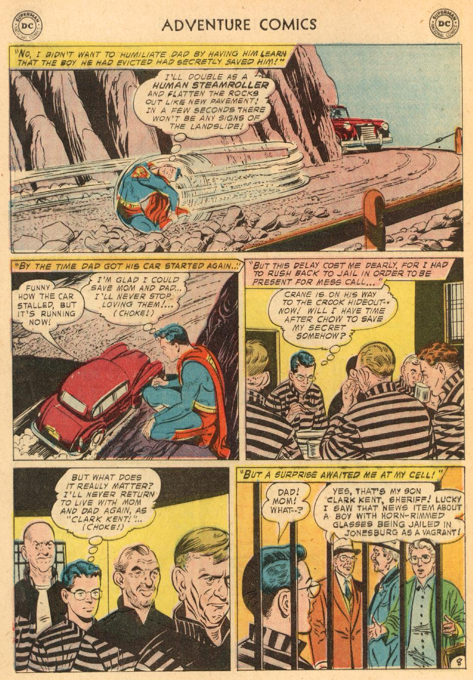 Read online Adventure Comics (1938) comic -  Issue #249 - 10
