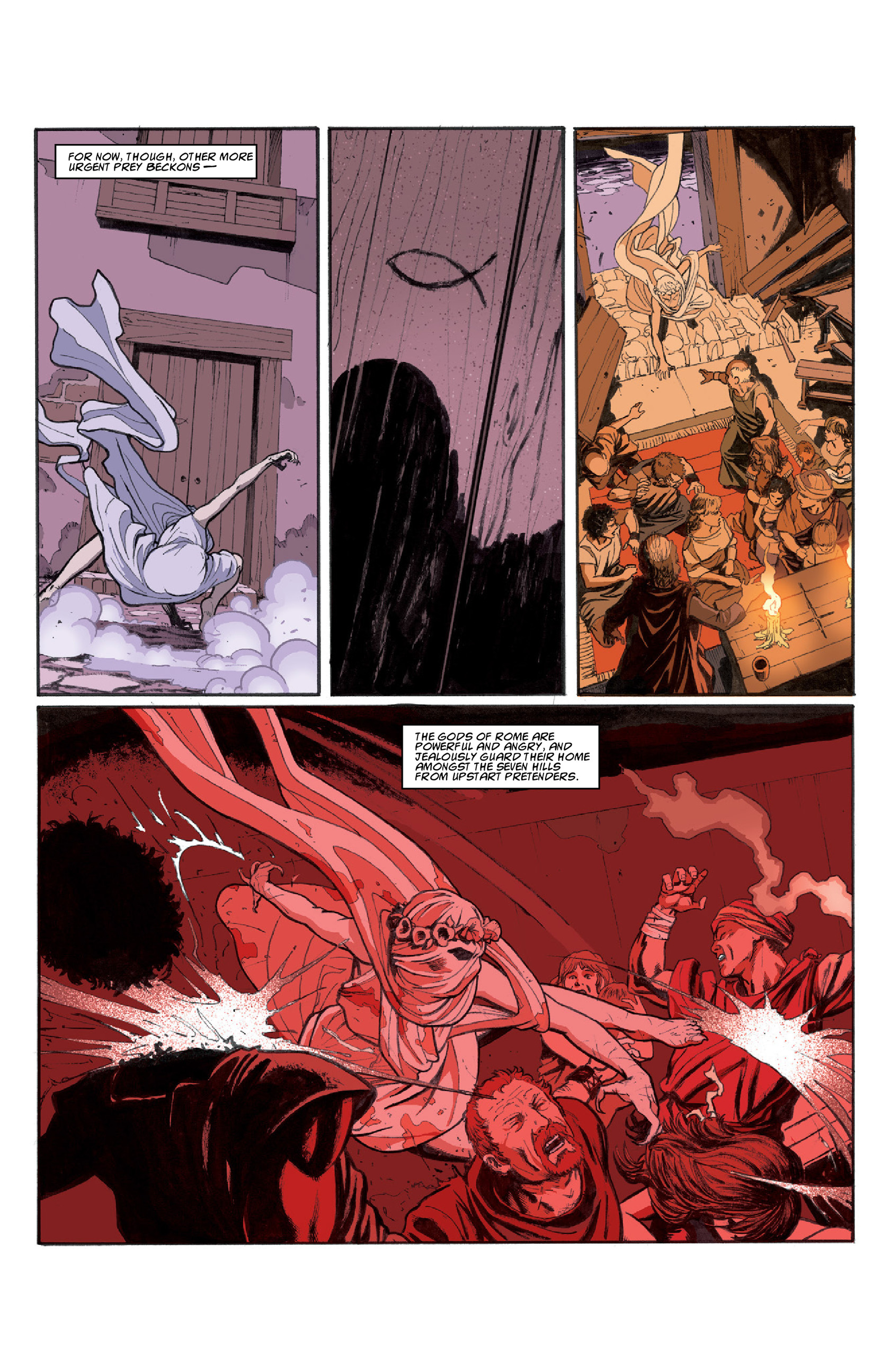 Read online Aquila comic -  Issue #3 - 11