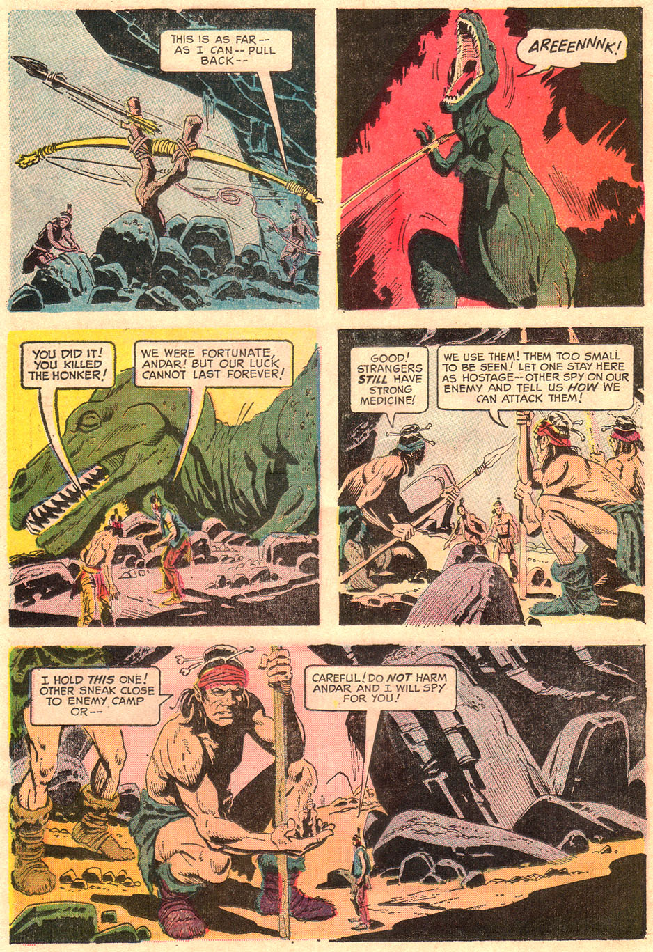 Read online Turok, Son of Stone comic -  Issue #67 - 26