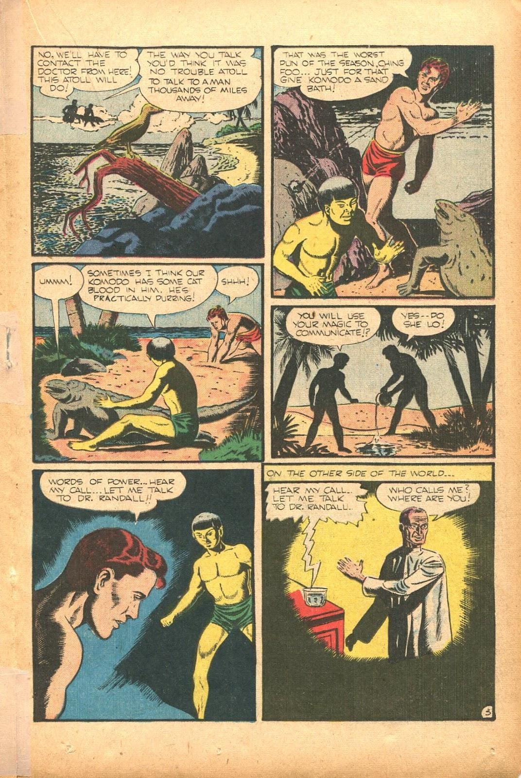Read online Super-Magician Comics comic -  Issue #35 - 27
