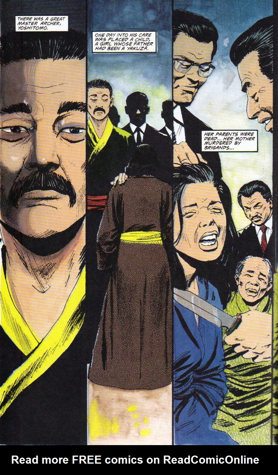 Read online Shado: Song of the Dragon comic -  Issue #2 - 36