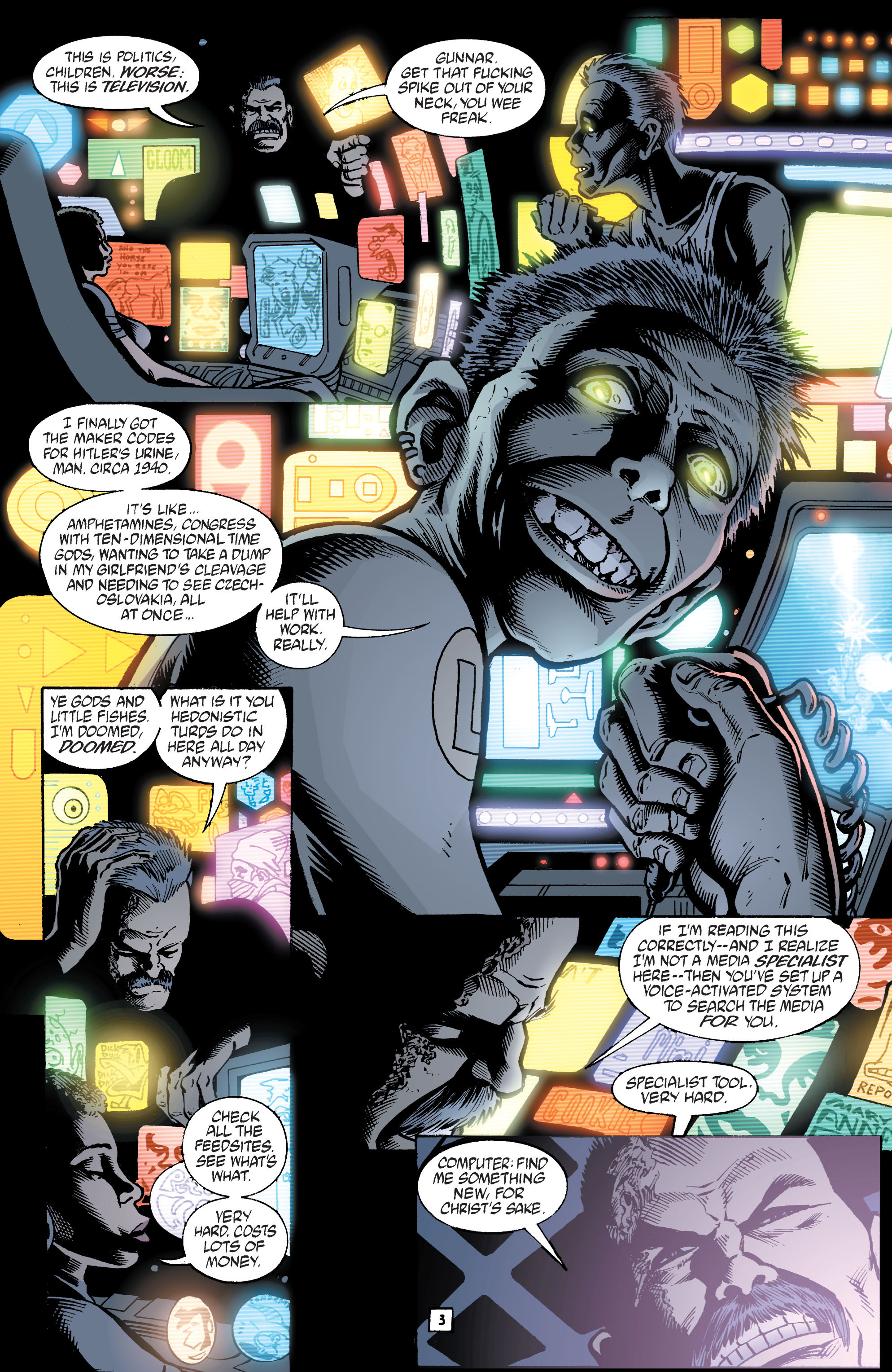 Read online Transmetropolitan comic -  Issue #39 - 4