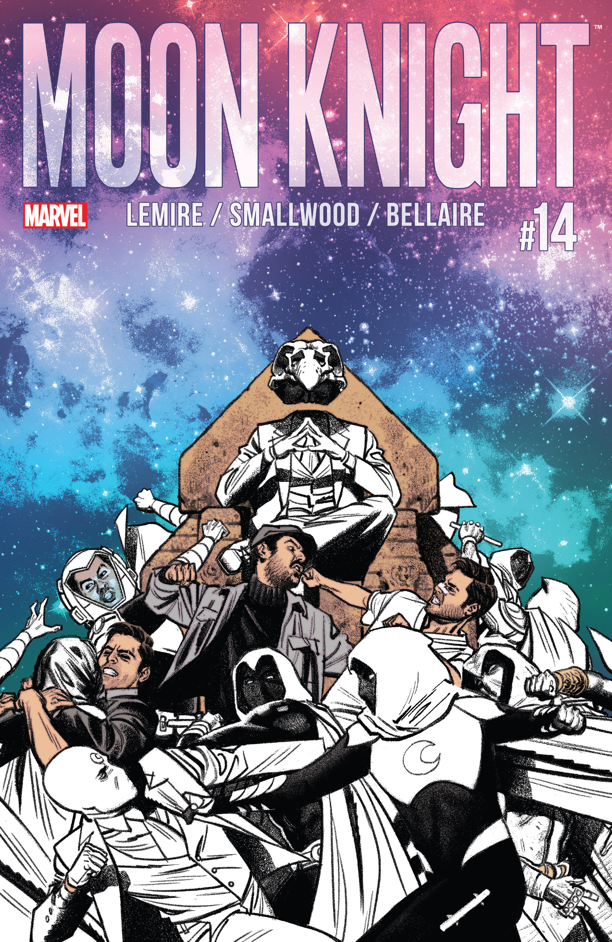 Read online Moon Knight (2016) comic -  Issue #14 - 1