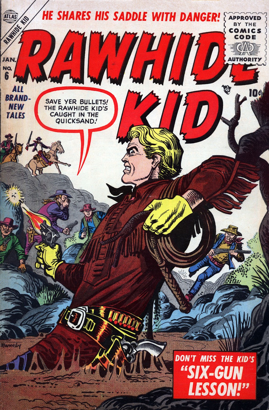 The Rawhide Kid (1955) issue 6 - Page 1