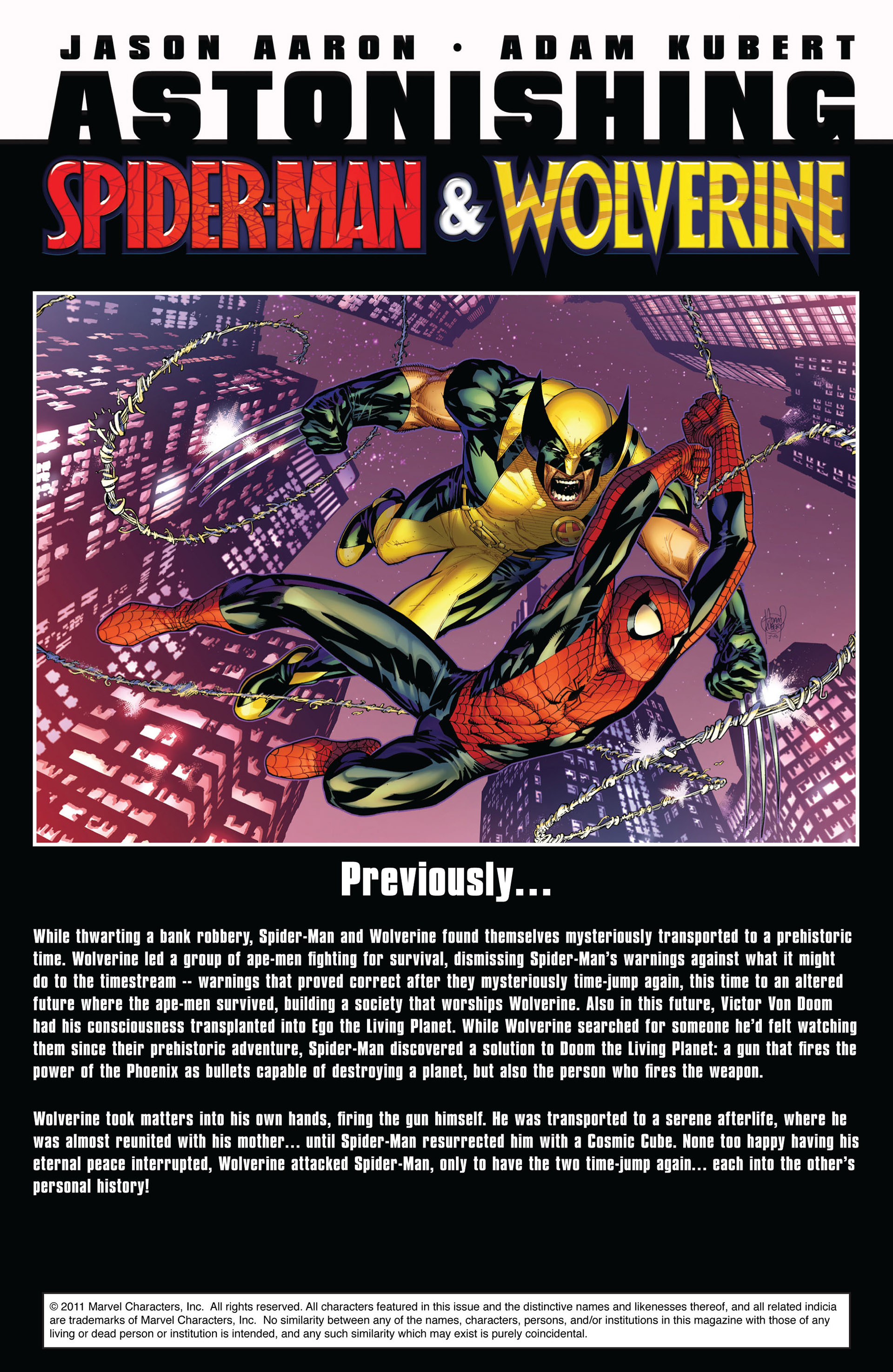 Read online Astonishing Spider-Man & Wolverine comic -  Issue #4 - 2