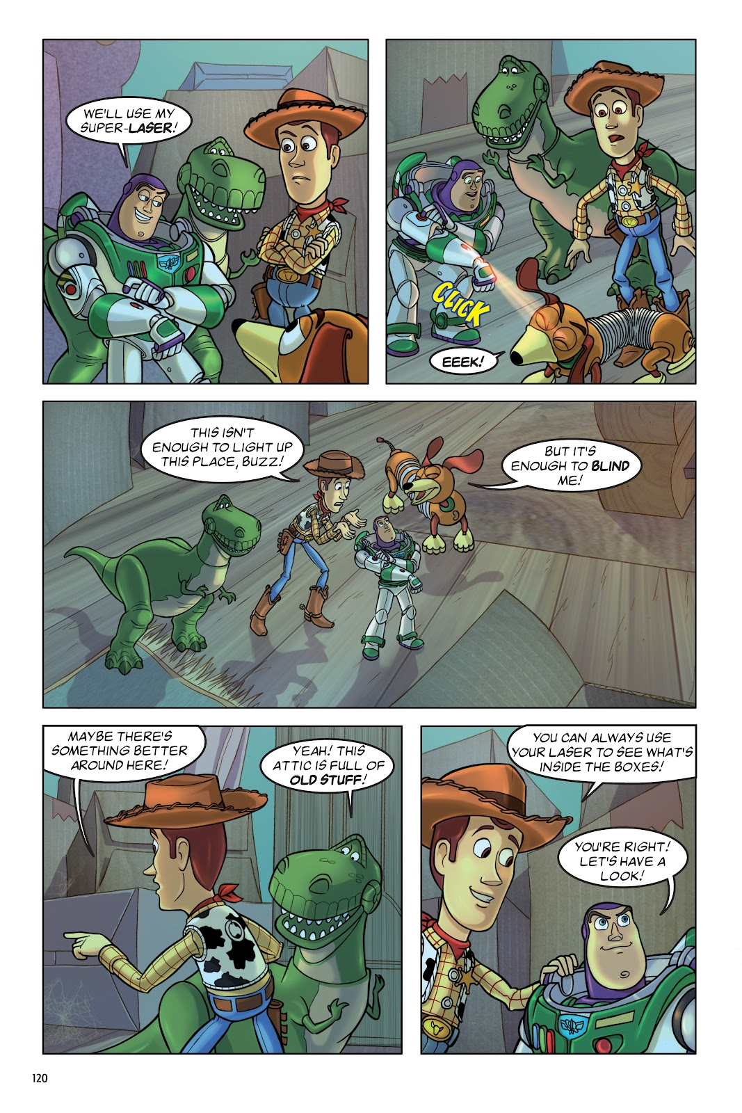 Read online DISNEY·PIXAR Toy Story Adventures comic -  Issue # TPB 1 (Part 2) - 20