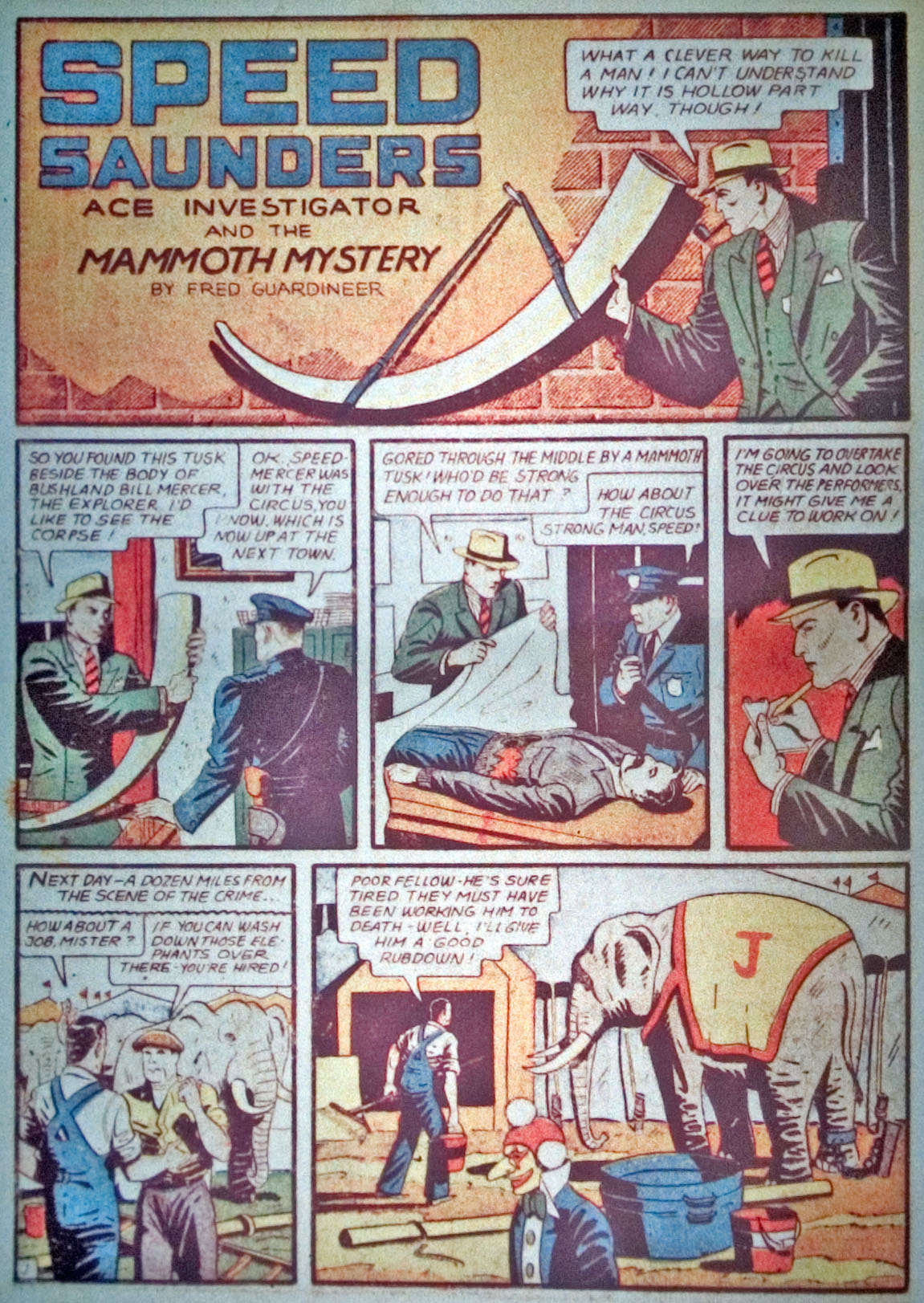 Read online Detective Comics (1937) comic -  Issue #31 - 36