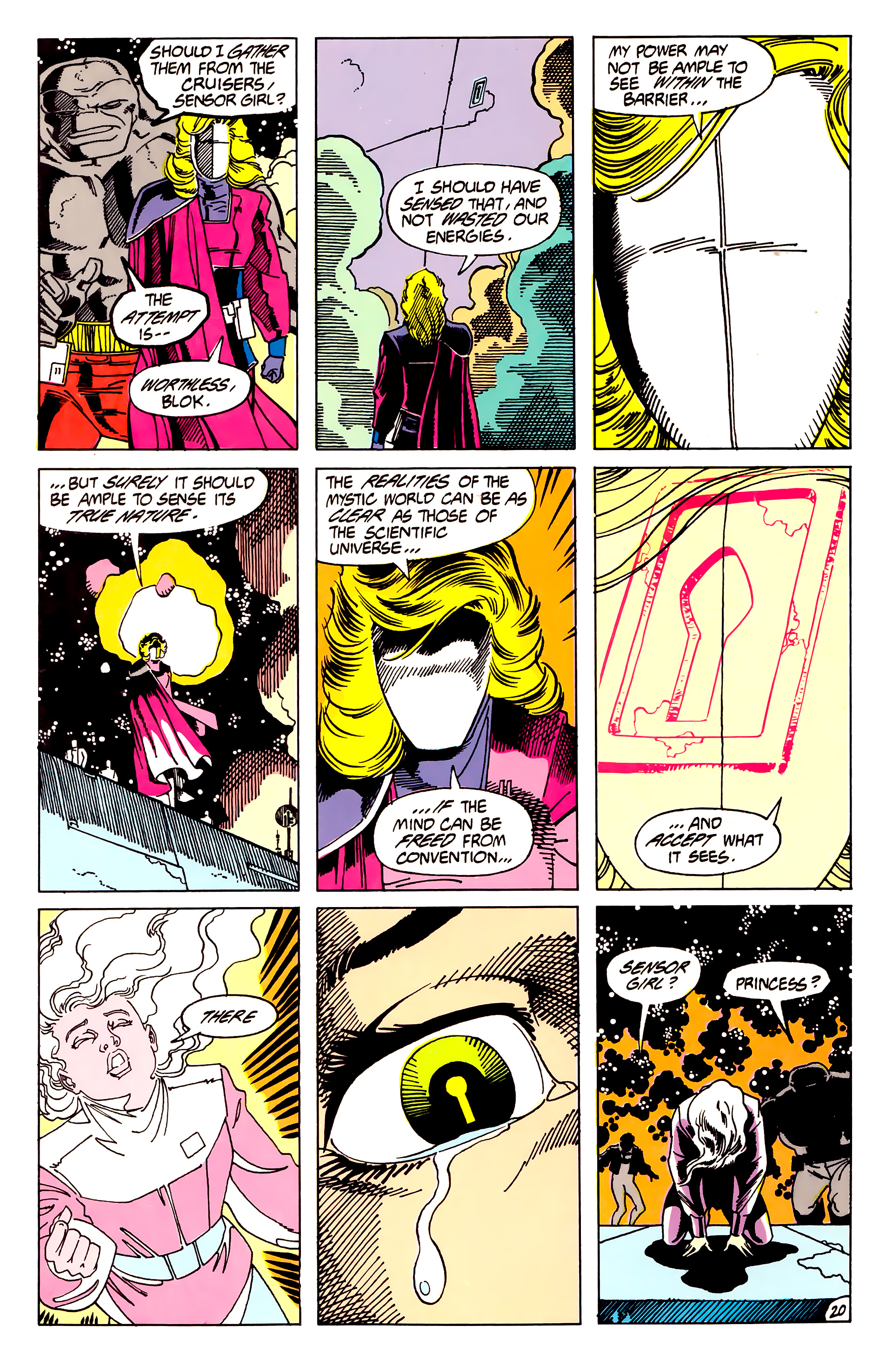 Legion of Super-Heroes (1984) 62 Page 20