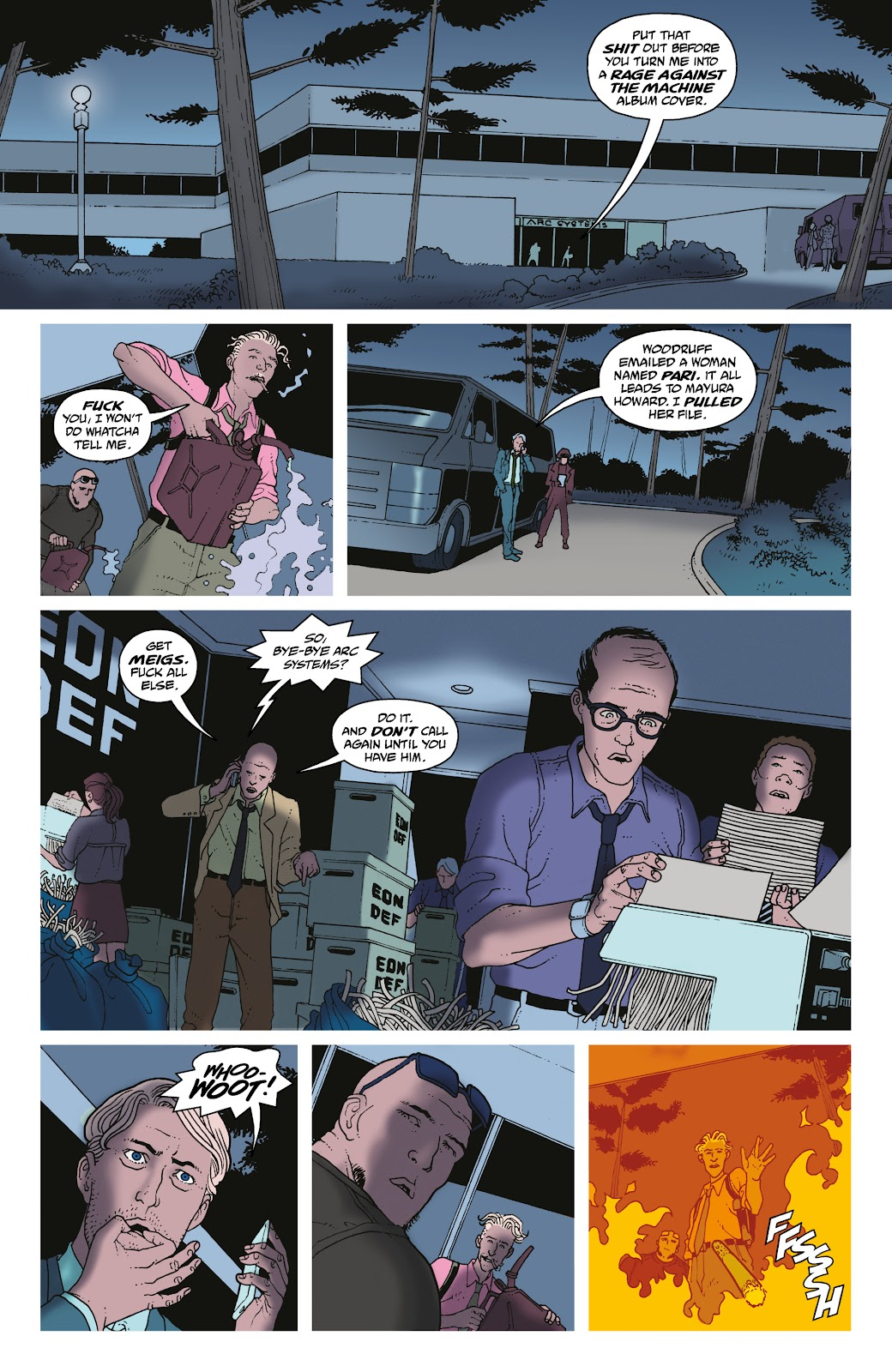 Read online She Could Fly comic -  Issue # _TPB - 77