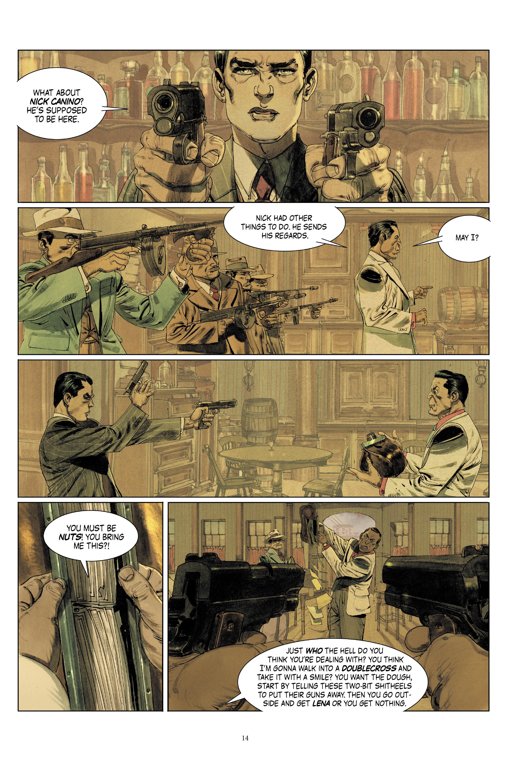 Read online Triggerman comic -  Issue #5 - 14