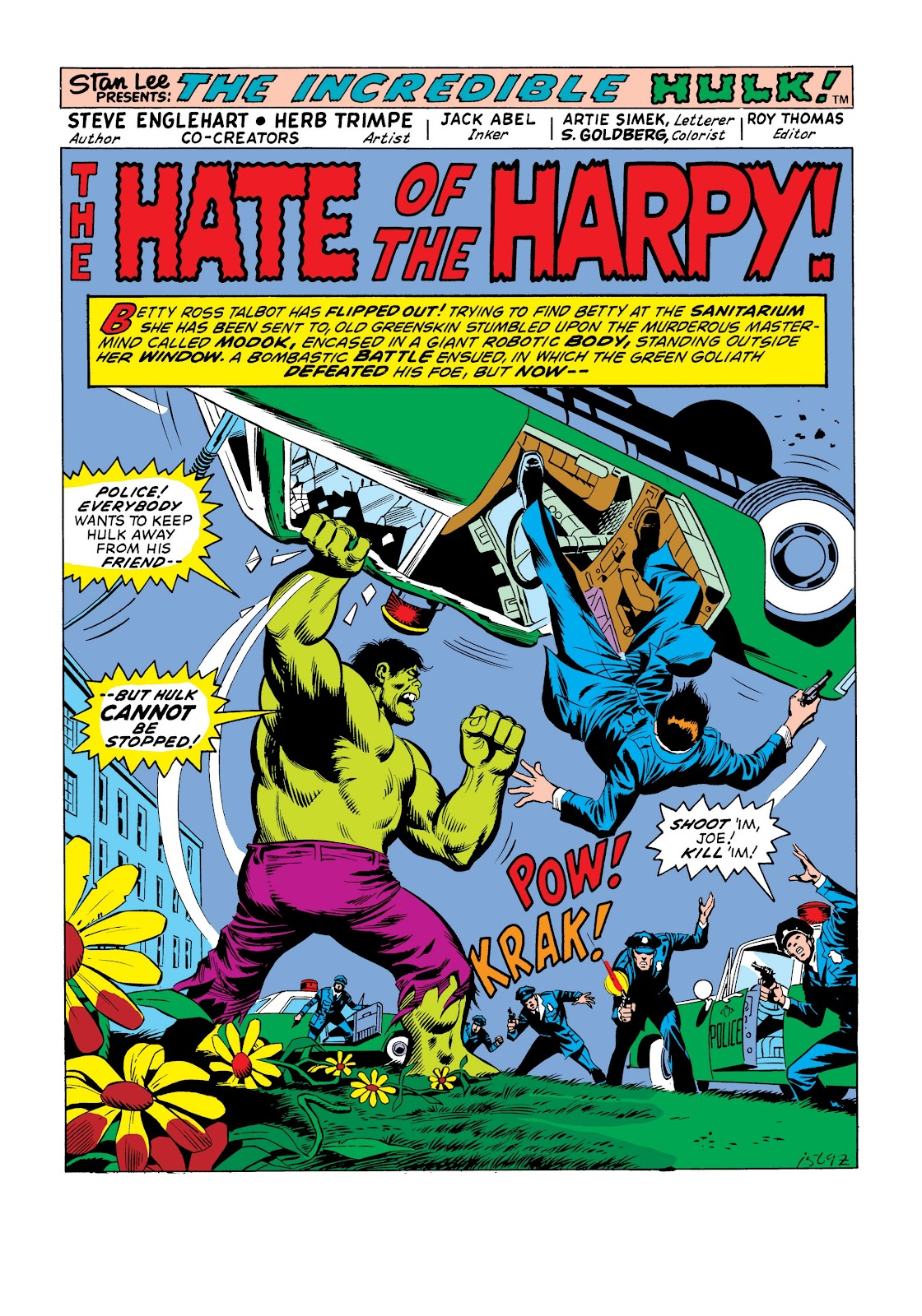 Read online Marvel Masterworks: The Incredible Hulk comic -  Issue # TPB 9 (Part 3) - 38
