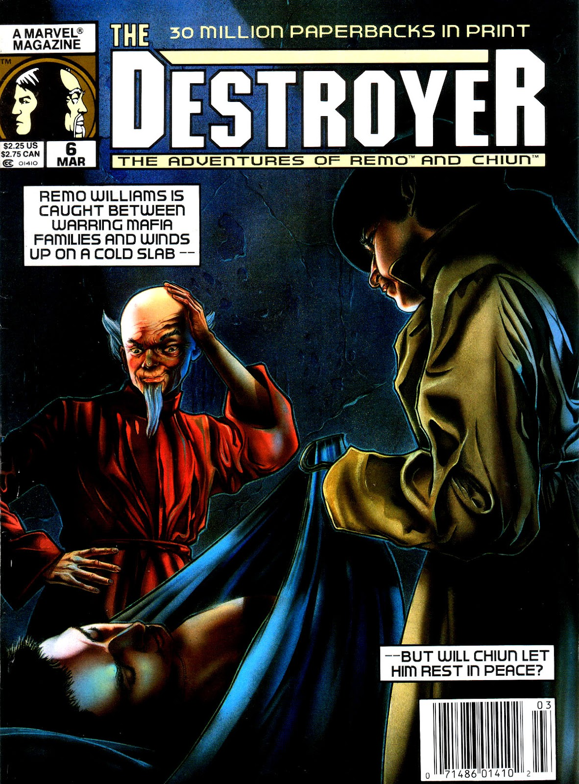 The Destroyer (1989) issue 6 - Page 1