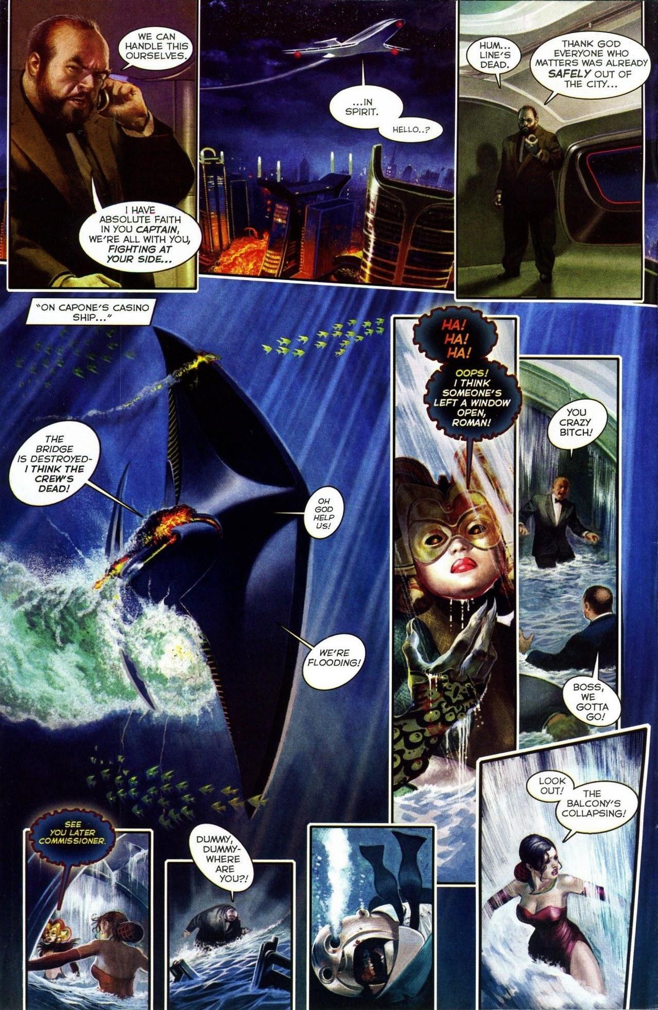 Read online Shark-Man comic -  Issue #3 - 4