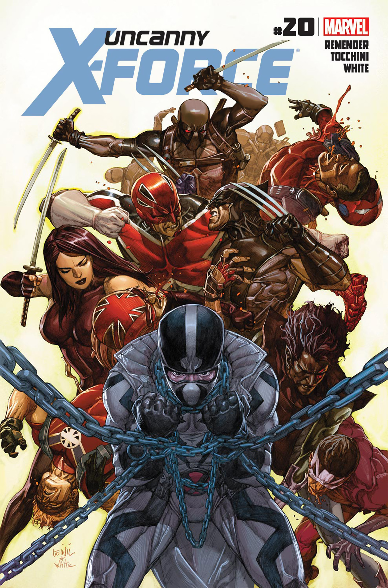 Read online Uncanny X-Force (2010) comic -  Issue #20 - 1