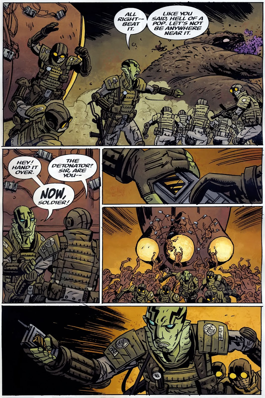 B.P.R.D.: The Warning issue 4 - Page 23
