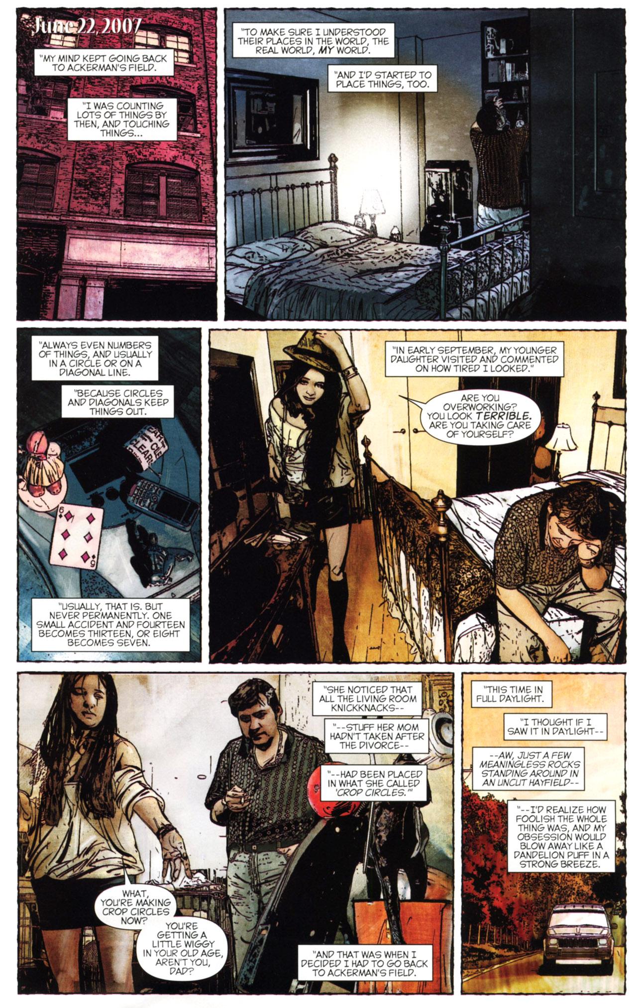 Read online Stephen King's N. comic -  Issue #2 - 7