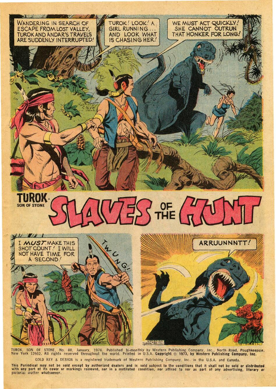 Read online Turok, Son of Stone comic -  Issue #88 - 3