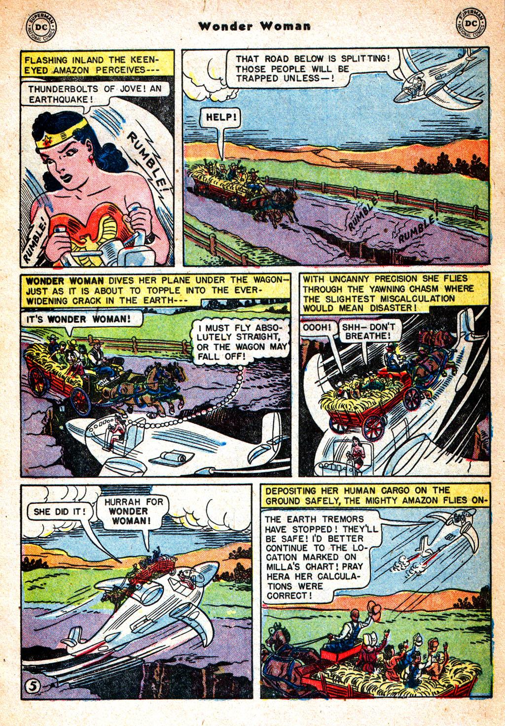 Read online Wonder Woman (1942) comic -  Issue #57 - 6