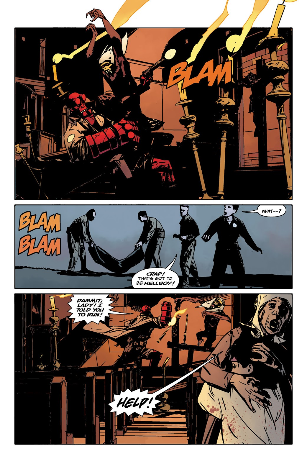 Read online Hellboy and the B.P.R.D. comic -  Issue # _TPB - 47