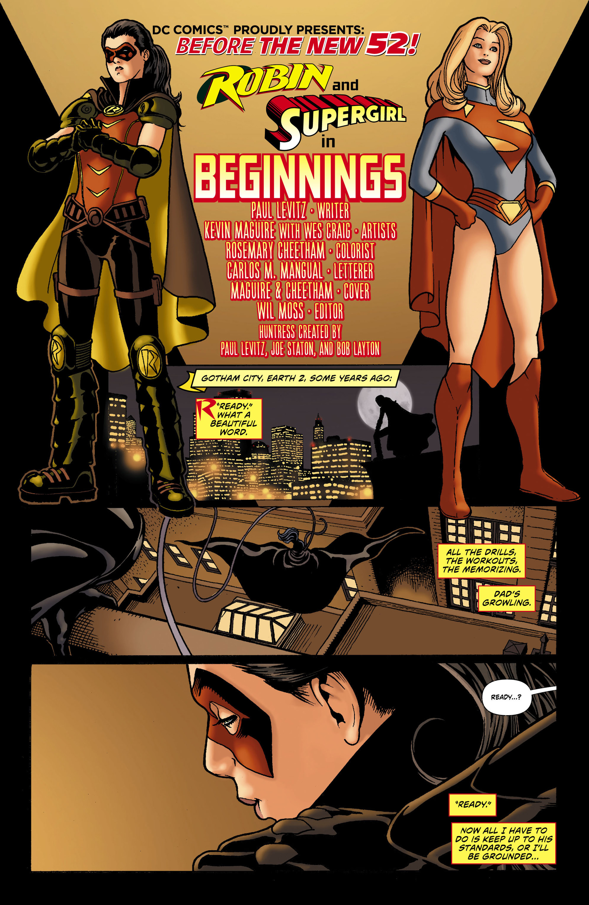 Read online Worlds' Finest comic -  Issue #0 - 3