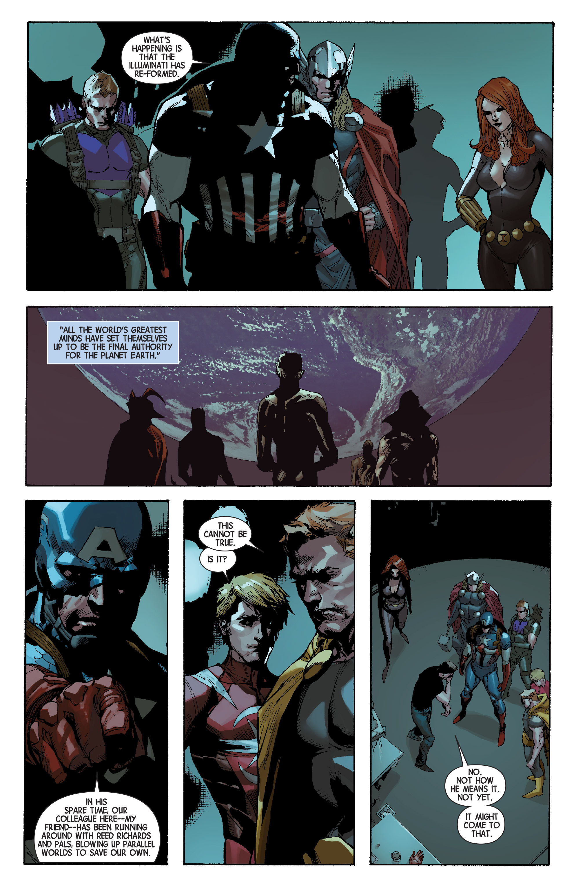 Read online Avengers (2013) comic -  Issue #29 - 22