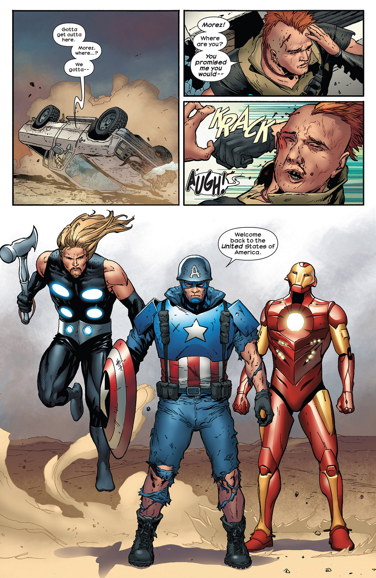 Read online Ultimate Comics Ultimates comic -  Issue #13 - 21