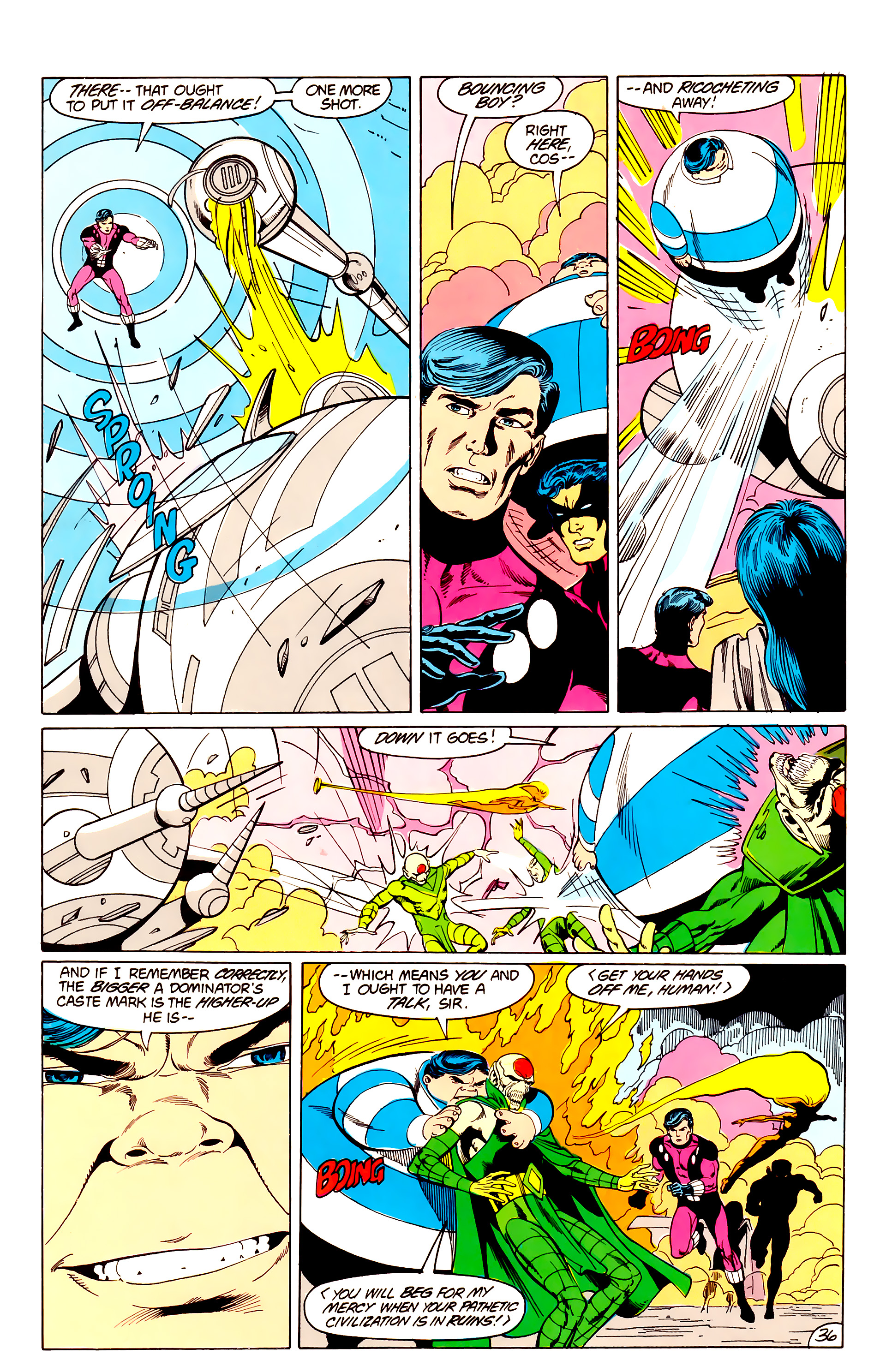Legion of Super-Heroes (1984) _Annual_3 Page 36