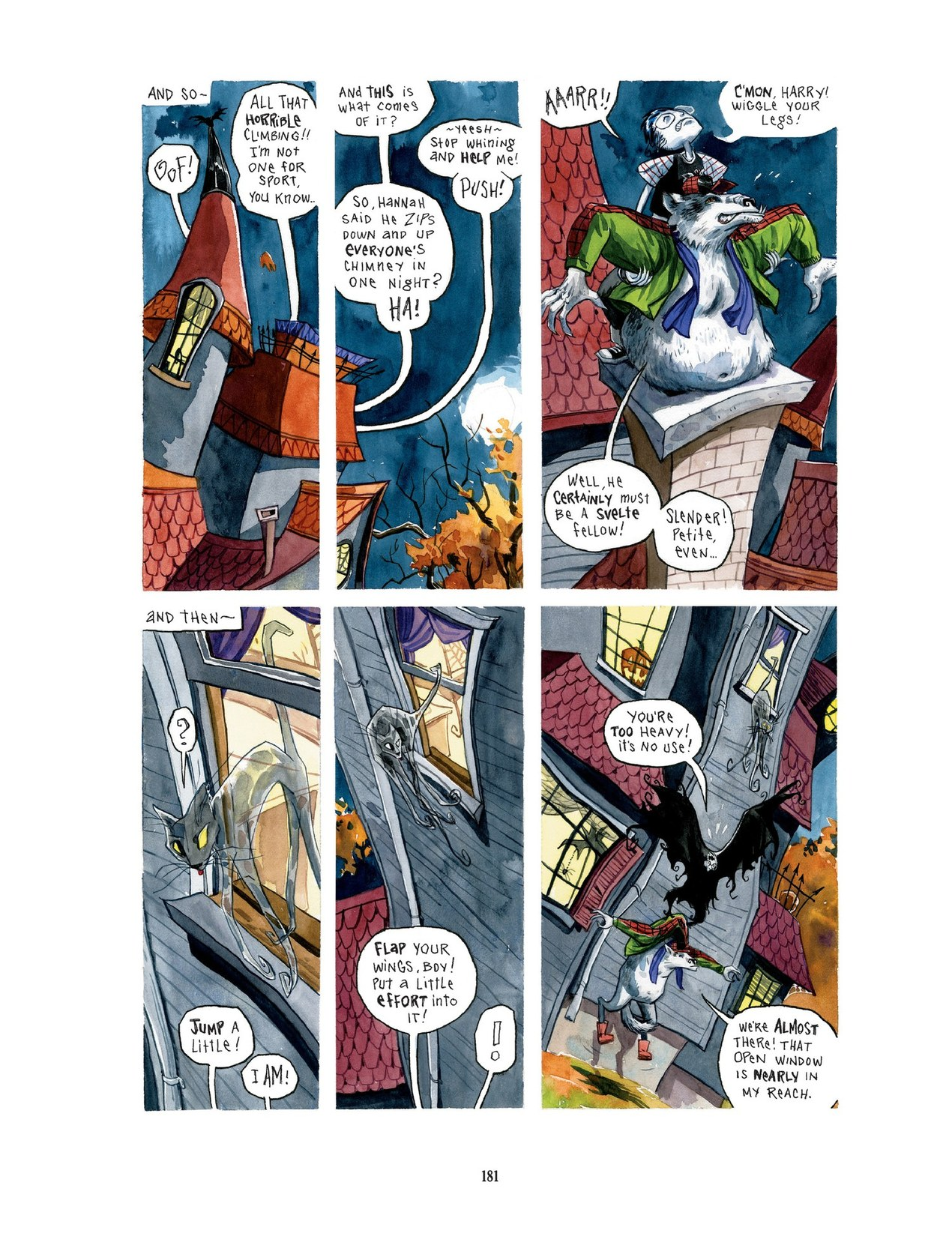 Read online Scary Godmother comic -  Issue # TPB - 181