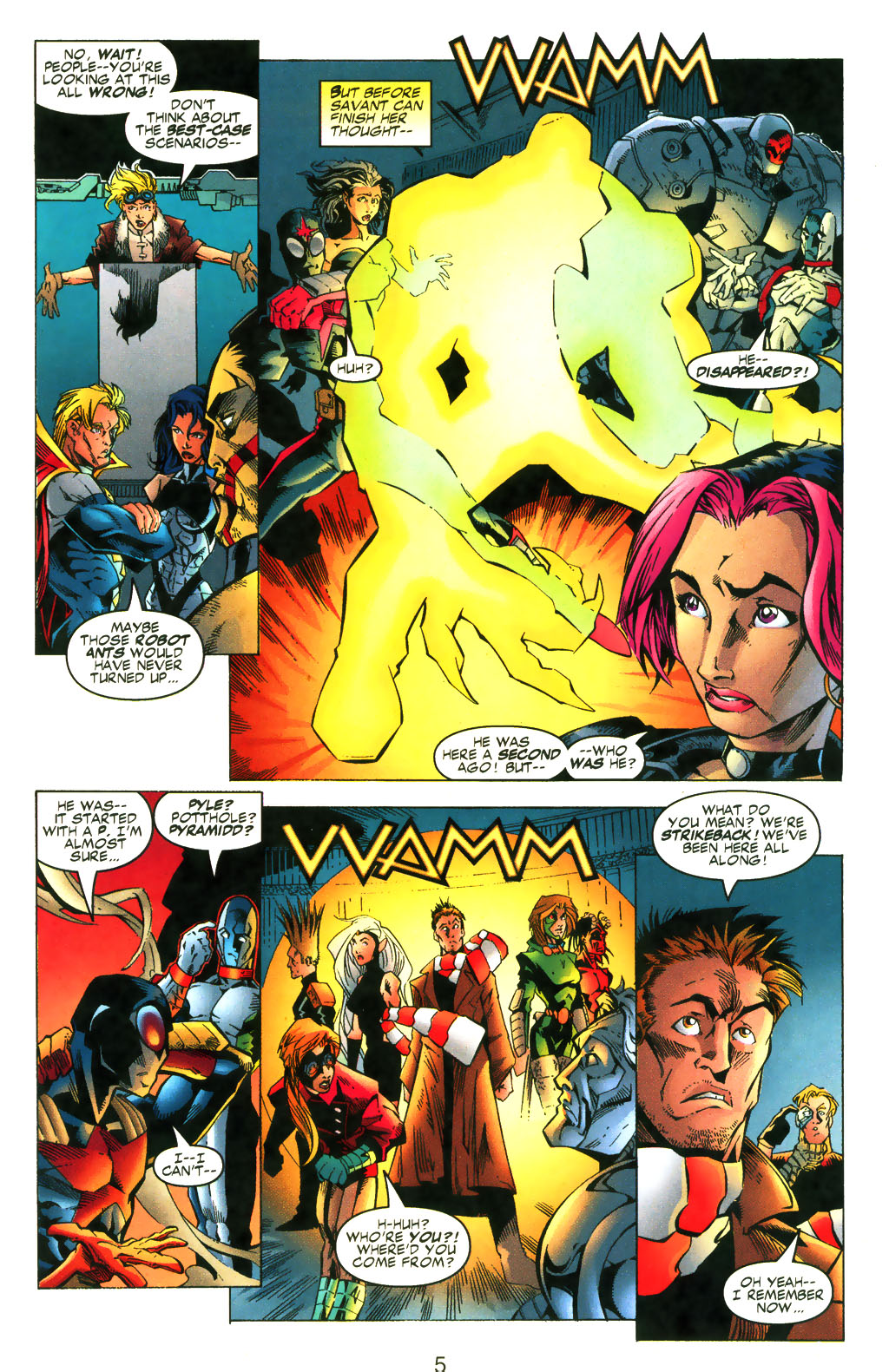 Read online Shattered Image comic -  Issue #2 - 5