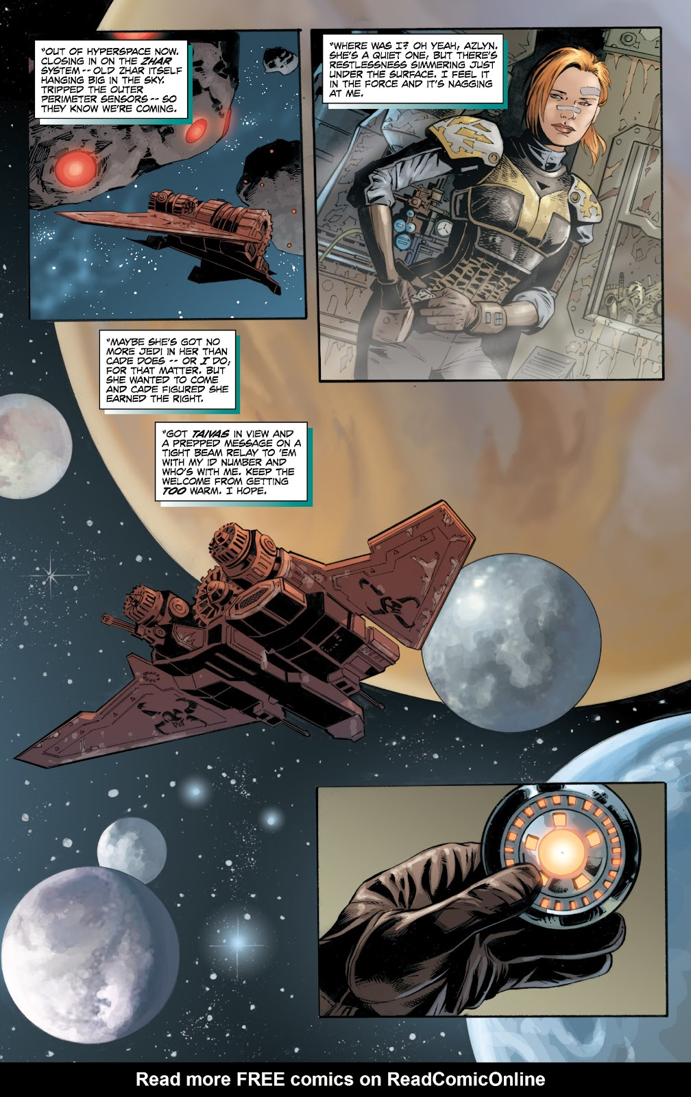 Read online Star Wars Legends: Legacy - Epic Collection comic -  Issue # TPB 2 (Part 2) - 52