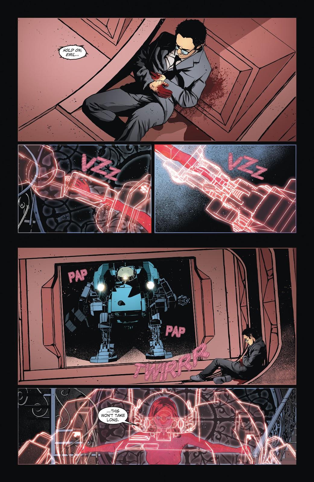 Read online Smallville Season 11 [II] comic -  Issue # TPB 6 - 36