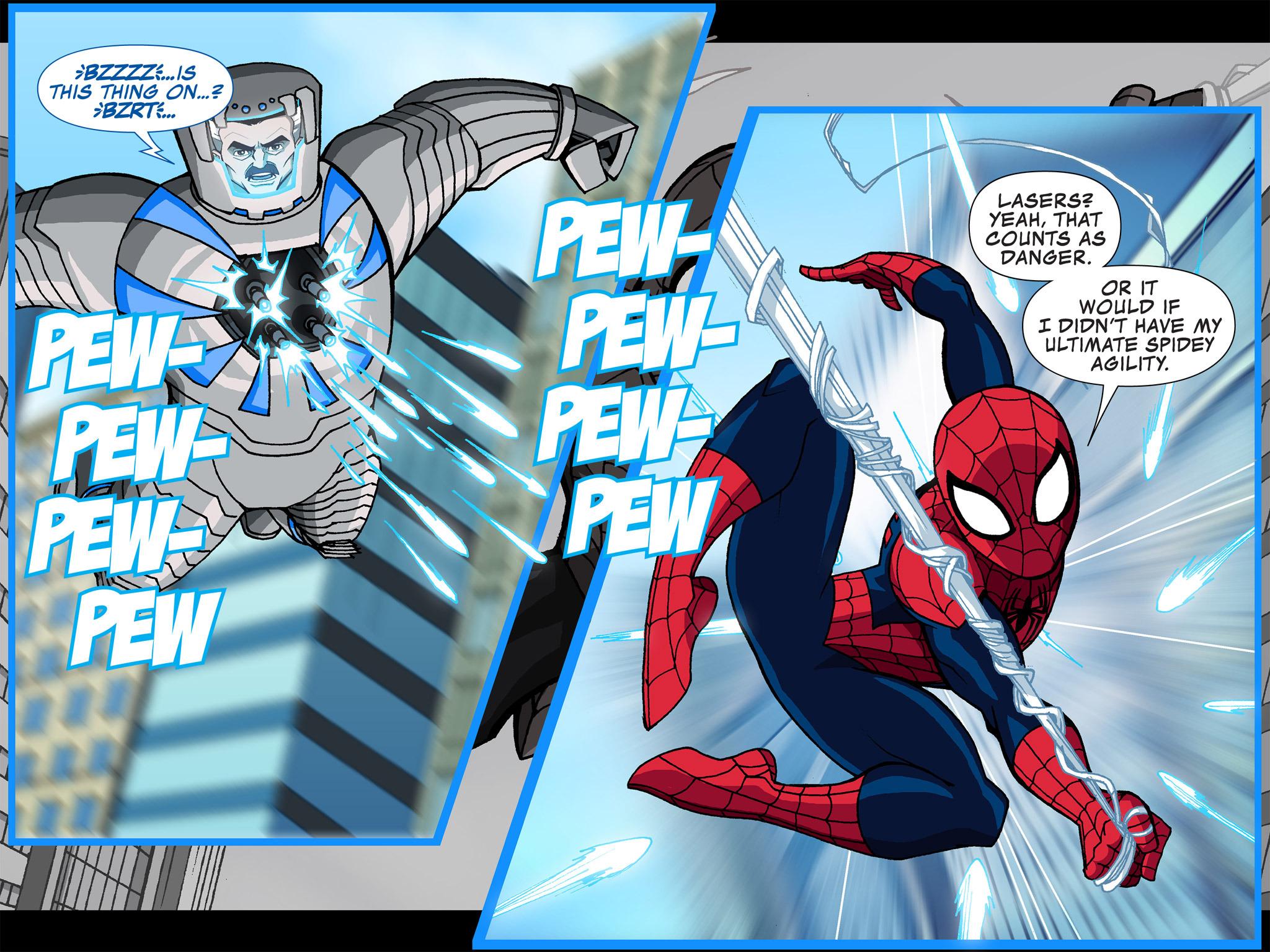 Read online Ultimate Spider-Man (Infinite Comics) (2015) comic -  Issue #4 - 24