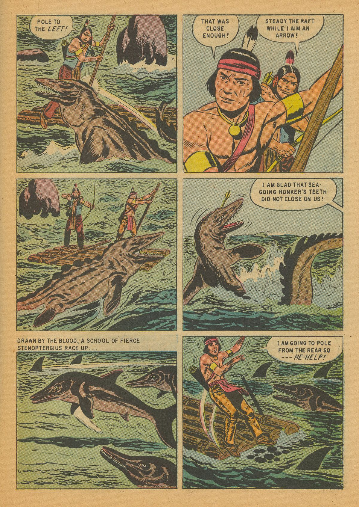Read online Turok, Son of Stone comic -  Issue #14 - 27
