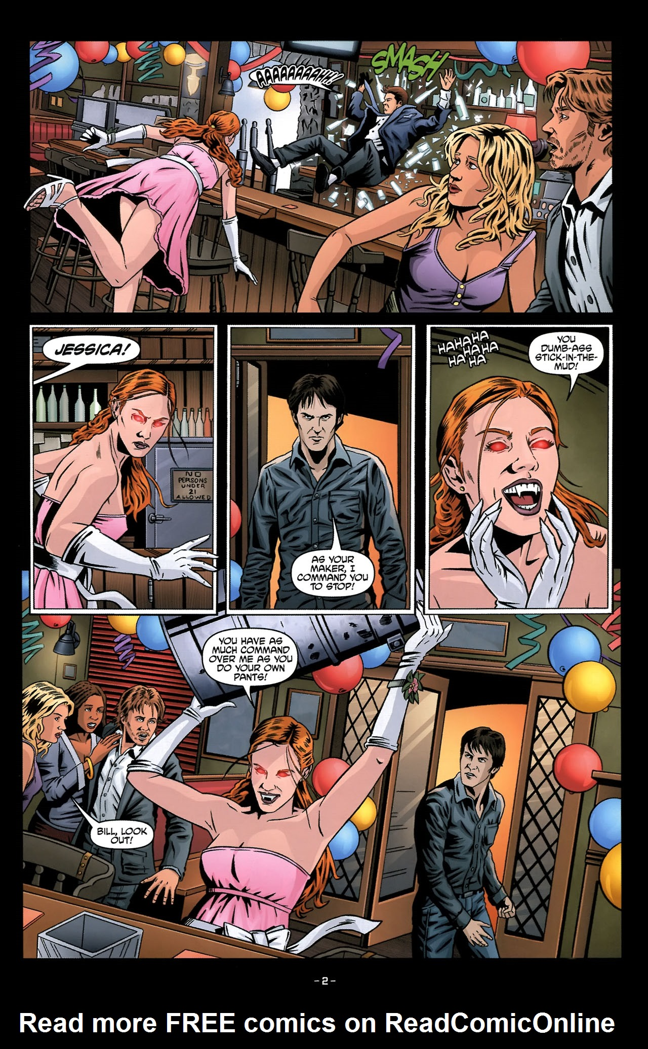 Read online True Blood: Tainted Love comic -  Issue #2 - 6