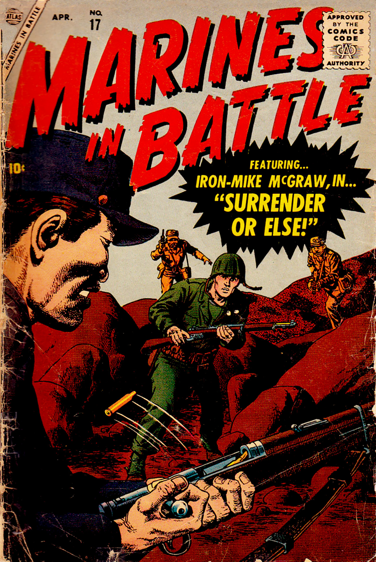 Marines in Battle 17 Page 1