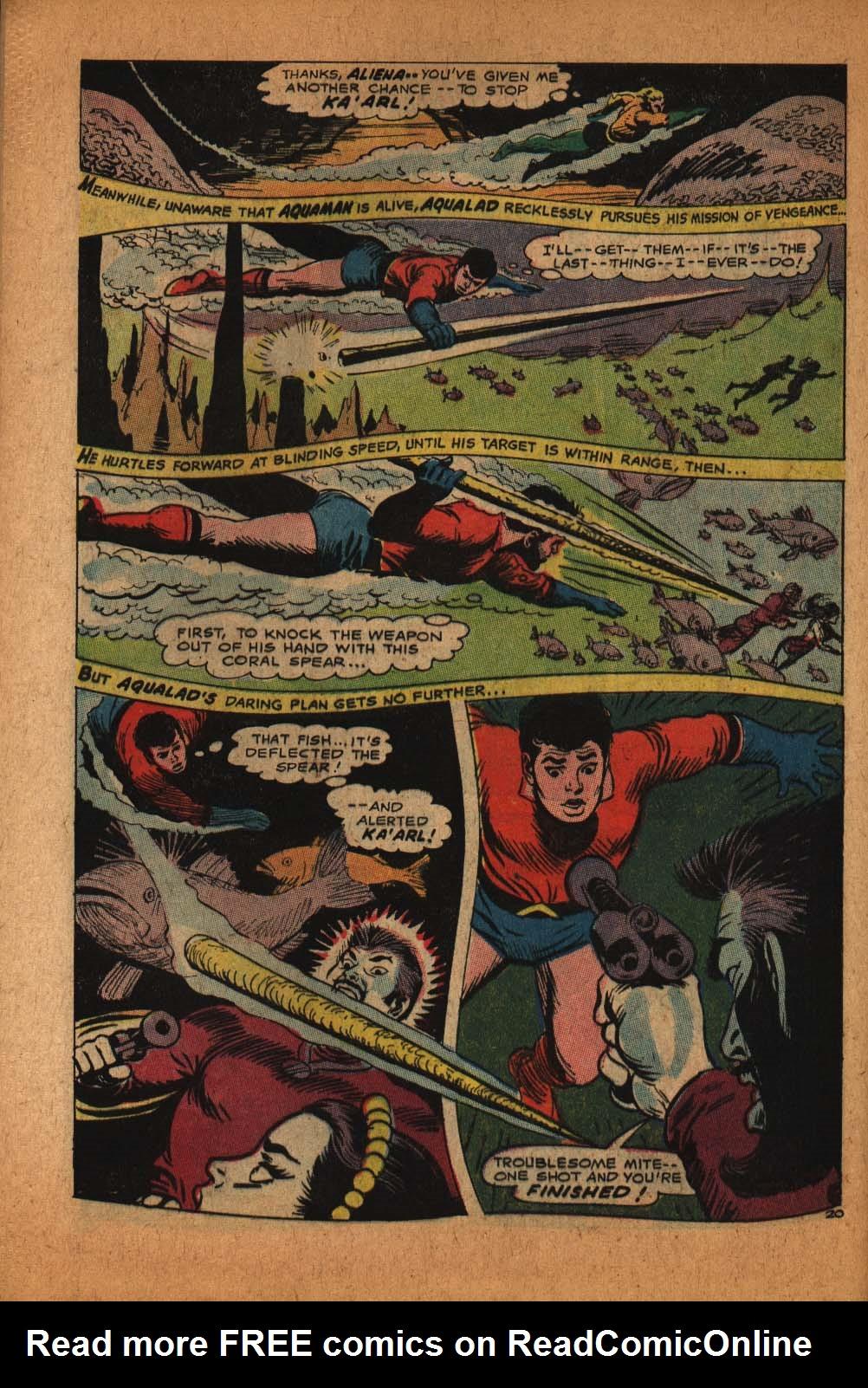 Read online Aquaman (1962) comic -  Issue #39 - 29