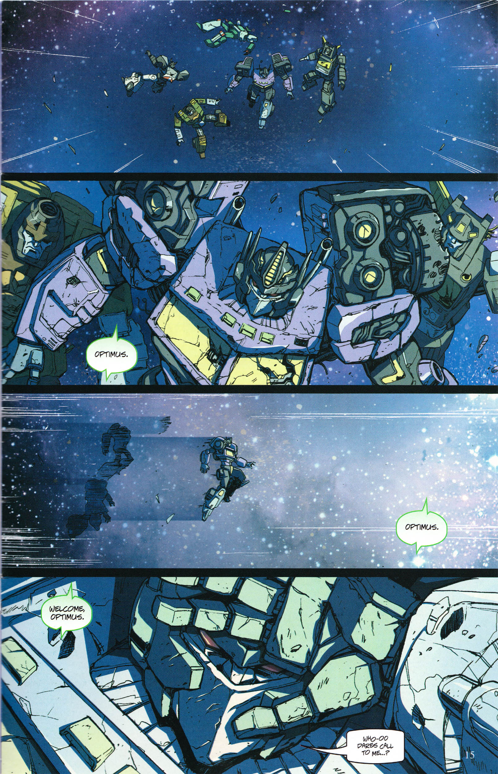 Read online Transformers: Collectors' Club comic -  Issue #60 - 15