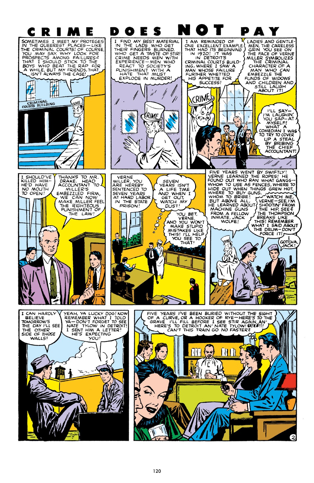 Read online Crime Does Not Pay Archives comic -  Issue # TPB 10 (Part 2) - 21