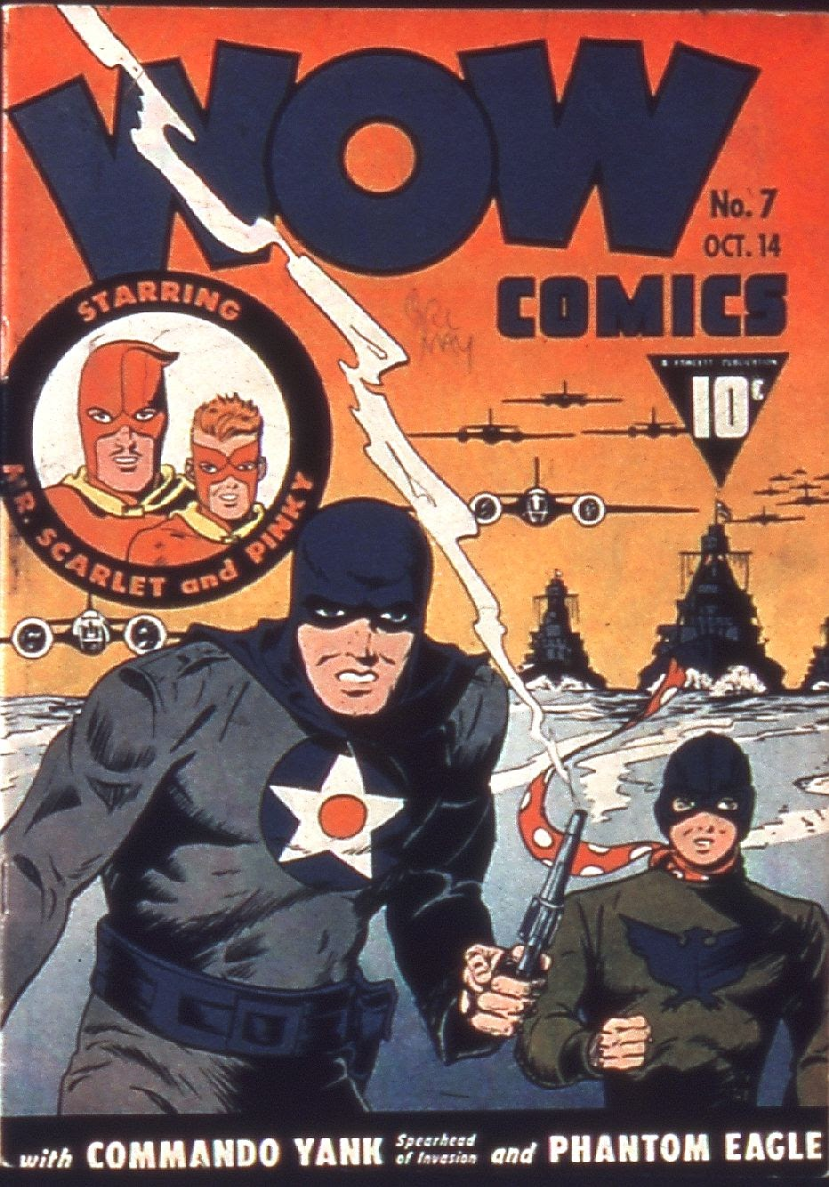 Wow Comics 7 Page 1