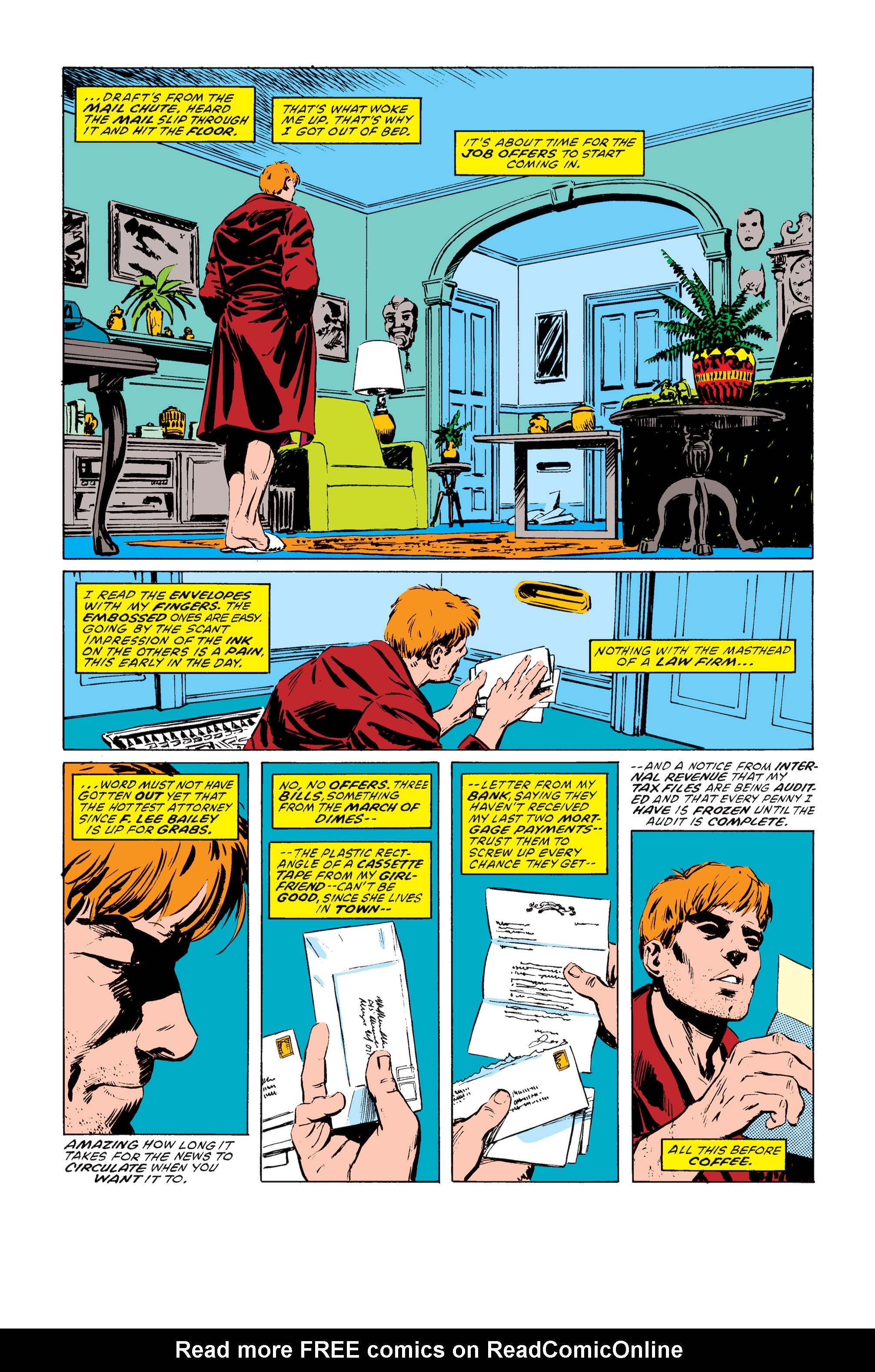 Read online Daredevil: Born Again comic -  Issue # Full - 34