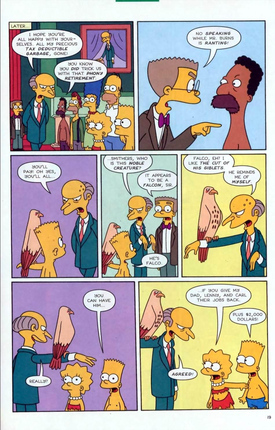 Read online Simpsons Comics comic -  Issue #72 - 20