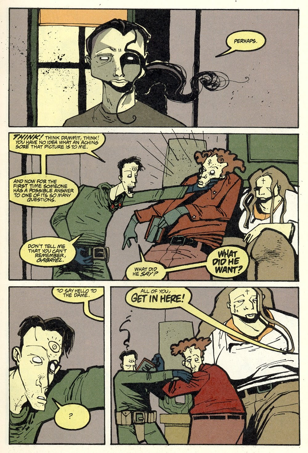Read online Ted McKeever's Metropol comic -  Issue #12 - 9