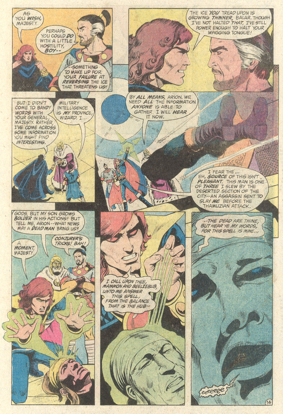 Read online Arion, Lord of Atlantis comic -  Issue #2 - 14