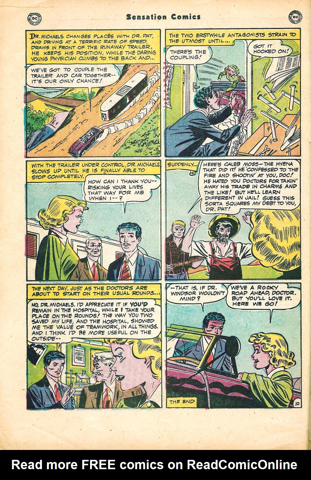 Read online Sensation (Mystery) Comics comic -  Issue #95 - 24