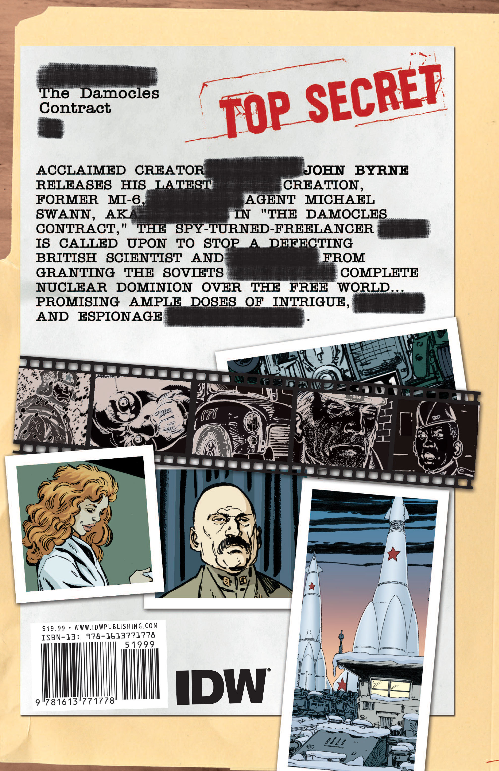 Read online Cold War comic -  Issue # TPB - 137