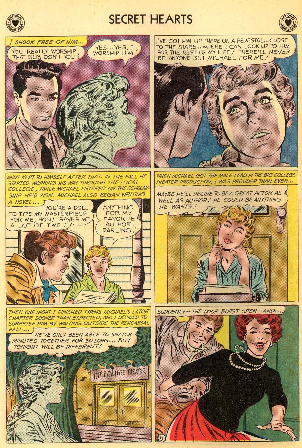 Read online Secret Hearts comic -  Issue #66 - 10