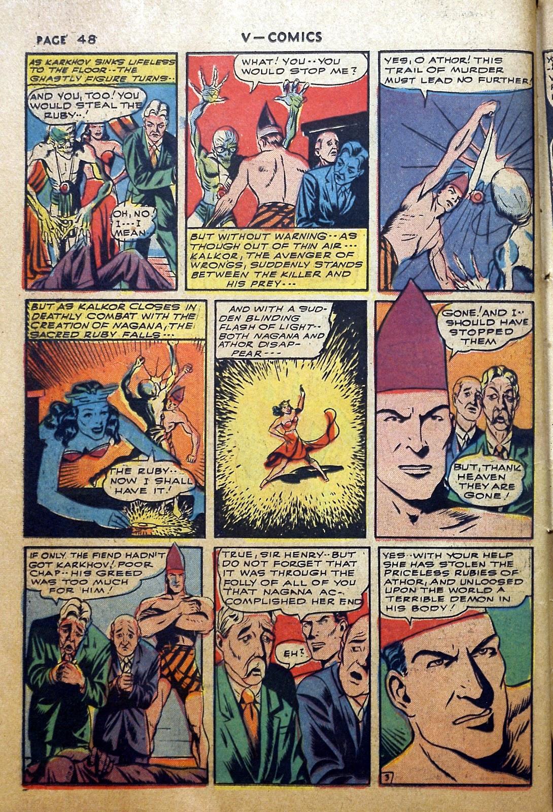 Read online V...- Comics comic -  Issue #2 - 49