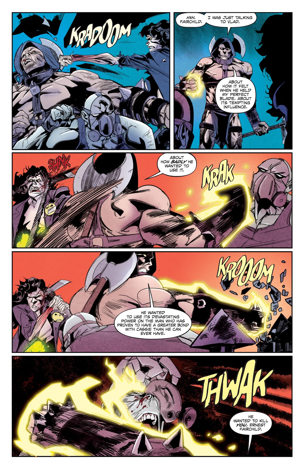 Read online Hack/Slash vs. Chaos comic -  Issue #5 - 10